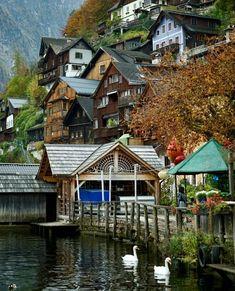 Cabin, Live, House Styles, Travel, Austria, Home Decor, Viajes, Decoration Home, Room Decor