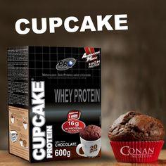 ★ NOVIDADE CONAN ★  ➨➨ CupCake nutritivo, saboroso e muito fácil de fazer.  Entrega grátis em Ipatinga. Peça já o seu.  #cupcake #probiotica #conannutrition #entregagratis