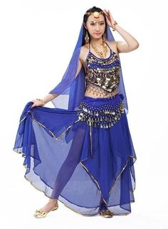 8ea5d1b62e 5pcs/Set Belly Dancing Costume Sets Egyption Egypt Belly Dance Costume  Bollywood Costume Indian Dress Bellydance Dress