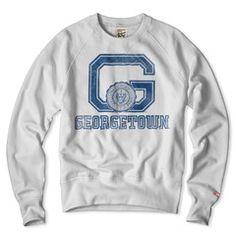 Georgetown Hoyas Sweatshirt Anti Fashion, Girl Fashion, Fashion Outfits, Georgetown Hoyas, Spirit Wear, College Outfits, Mens Outfitters, Graphic Sweatshirt, T Shirt