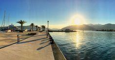 Sunsets in the Mediterranean #Tivat #girlsvsglobe #Montenegro #dametraveler #getoutside #Sunset #SunsetAddict