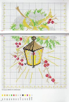 Christmas berries and lantern - free cross stitch patterns crochet knitting amigurumi Diy Christmas Cards, Christmas Cross, Cross Stitch Patterns, Crochet Patterns, Christmas Berries, Knitting, Nouvel An, Old Cards, Christmas Embroidery