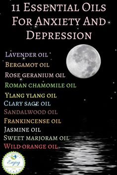 Learn how these 11 essential oils can help you STOP the hurt of depression and dininish anxiety for good.