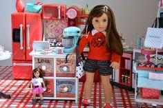 American Girl Doll Grace's Kitchen ~GOTY 2015~ love agoverseasfan :)