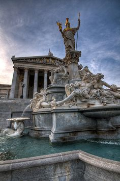 Ancient Rome, Ancient Greece, Ancient Art, Greek Pantheon, Versailles, Pompeii Italy, By Any Means Necessary, Austria Travel, Water Features