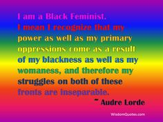 16 Great Quotes From African American Women: Audre Lorde Quote