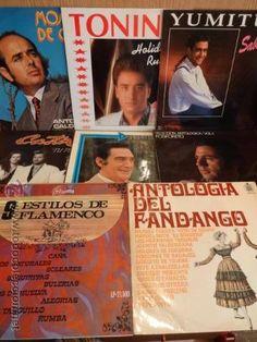 8 LPS FLAMENCO VARIADOS. USO NORMAL DE LA ÉPOCA. MUY ACEPTABLES. VER FOTOS.