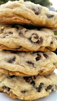 OMG Soft Batch Chocolate Chip Cookies ~ Delectable, insane, buttery, rich, thick... Pure Nirvana!