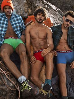 Temperatures may cool, but Tommy Hilfiger underwear will always look hot.