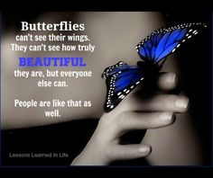 Awesome Butterfly quote