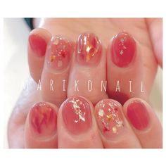 These nail designs and styles happen to be as easy as they are adorable. If you are regularly on the lookout for options and brand new designs, nail art designs are a way to display your personality and to be original. Cute Nails, Pretty Nails, My Nails, Korean Nail Art, Korean Nails, Asian Nail Art, Nail Art Designs, Asian Nails, Kawaii Nails