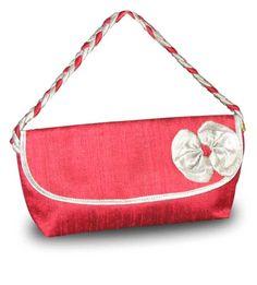 raw silk handmade bag. #fair trade# handmade