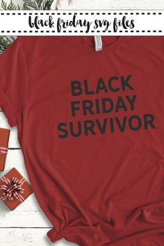 Get Black Friday ready with this fun SVG File from Everyday Party Magazine #SVGSaturday #BlackFridayShirt #BlackFridaySurvivor #BlackFridayIsMyCardio