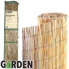 Picture of Garden Reed Fencing: 1.5 x 4M