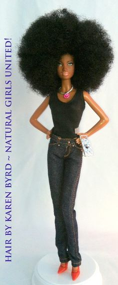 Ethnic Hair Inspired Dolls Natural Girls United http://www.naturalgirlsunited.com