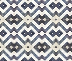 Chevron grey marble fabric by nascustomwallcoverings on Spoonflower - custom fabric
