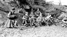 Troops of the West Yorkshire Regiment resting in a shell hole between Guillemont and Ginchy, September World War One, First World, Ww1 Photos, Battle Of The Somme, Canadian History, Troops, Soldiers, History Facts, Albania