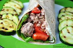 Celozrnná tortilla s tuniakovou náplňou - FitRecepty