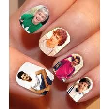 One Direction Nails, 1000 times loooovvveee One Direction Nails, Fetus One Direction, One Direction Pictures, I Love One Direction, Austin Mahone, Band Nails, Nail Time, Clear Nail Polish, Star Nails