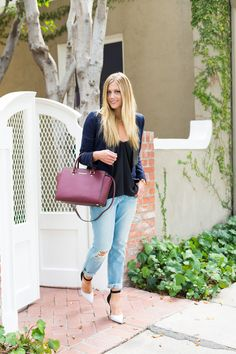 Devon Rachel: Structured Boyfriend Jeans