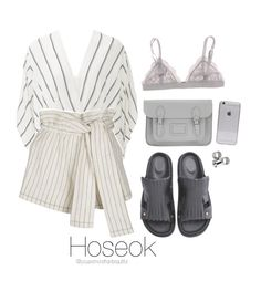 """""""BTS Inspired [White]"""" by youaremorethanbeautiful ❤ liked on Polyvore featuring Free People, 3.1 Phillip Lim, MTWTFSS Weekday and The Cambridge Satchel Company"""