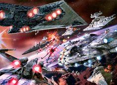 Epic Space Battle - Star Wars