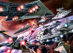 Epic Space Battle - Star Wars