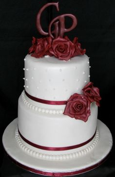 two tier wedding