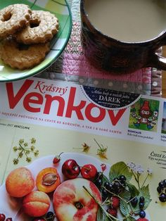 Just free time with coffee and magazine (Instagram profile @jolana_sekyrka)