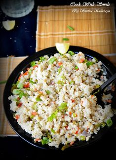 LITTLE MILLET UPMA / SAMAI UPMA - MILLET RECIPES | Cook With Smile
