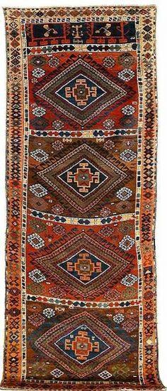 Kurdish rug-antique piece