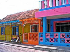 Buildings on Isla Mujeres - Food Musings Cozumel, Cancun Mexico, Mexico Destinations, Travel Destinations, Spring Break Trips, Caribbean Vacations, Quintana Roo, Need A Vacation, World Pictures