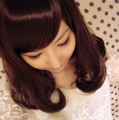 Buy Wigs Online, Side Bangs, Curly Wigs, Curled Hairstyles, Curls, Lover Fashion, Long Hair Styles, Pear, Electronics
