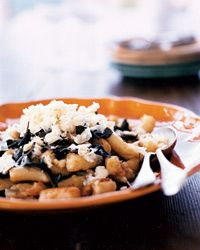 Green Olive Gnocchi with Green Olive Sauce Recipe on Food & Wine