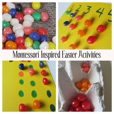 Montessori inspired easy Easter activities