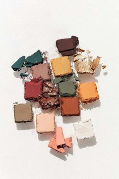 Earthy and warm palette