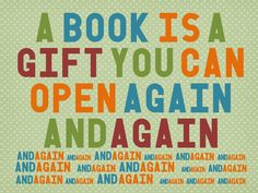 This is why I absolutely LOVE getting books as presents! I really do cherish them!