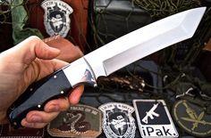 CFK USA Custom Handmade D2 BUFFALO HORN Tactical Combat Kukri Battle TANTO
