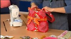 Designer Trish Preston has tips for making fashion-forward purses and totes to coordinate with every outfit. As seen on It's Sew Easy.