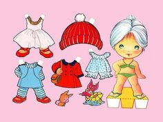 Paper dolls are figures cut out of paper, with separate clothes.  All 10 Paper dolls are different. Free paperdolls to print out and play w...