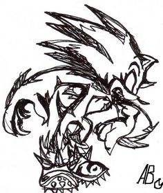 Werehog tatoo XD by Auroblaze.deviantart.com on @deviantART