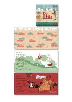 Pages from 'DE HIK' | Micha Wertheim & Christina Garcia Martin | Uitgeverij De Harmonie, 2015. I did the typography