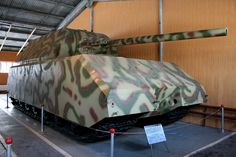 History of Tanks: The German Maus - http://www.warhistoryonline.com/war-articles/history-tanks-german-maus.html