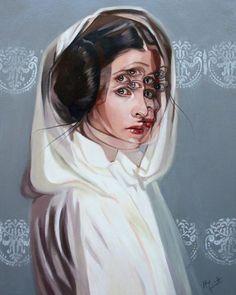 Leia by Alex Garand