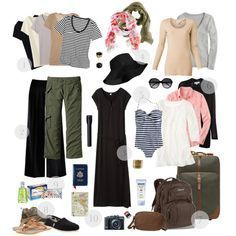 """""""Egypt Travel Packing"""" by prettyannamoon on Polyvore"""