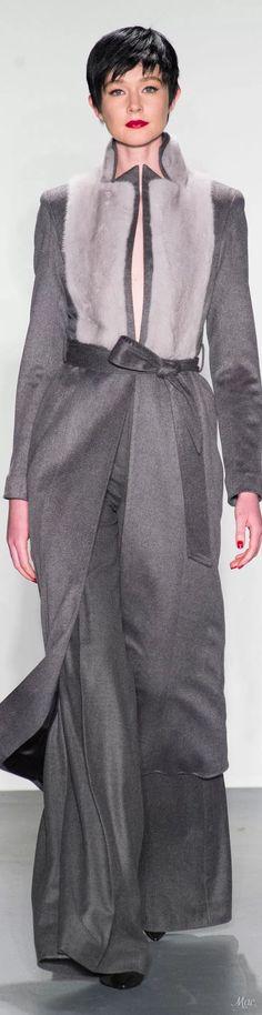 Fall 2018 RTW Zang Toi Fur Fashion, Grey Fashion, Love Fashion, Autumn Fashion, Womens Fashion, Fashion 2018 Trends, Winter Typ, 50 Shades Of Grey, Models