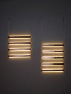 'Ladder Light' took inspiration from jewelry: conceptualizing light as decorative and emotive, rather than utilitarian. Hung on a wall like a necklace on s