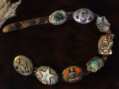Sweet Bird Studio concho belt.  This just the best...  Would love to own it.