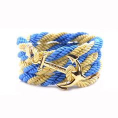 AlumniCrew Light Blue/Gold  Are you ready to rock your school colors in authentic Alumni Crew Style? The Joseph Nogucci Alumni Crew Bracelet Collection has brought the ancient symbolism of nautical exploration and turned it into a fashion statement that says a lot about the adventurer in you and is designed to make a splash by letting you flaunt your school spirit. - See more at: http://www.josephnogucci.com/products/alumnicrew-blue-gold#sthash.3VjePkBK.dpuf