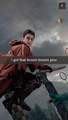 28 Snapchats From Harry Potter